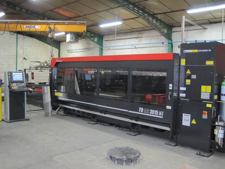 Nouvelles acquisitions 2015 Machine découpe laser Amada